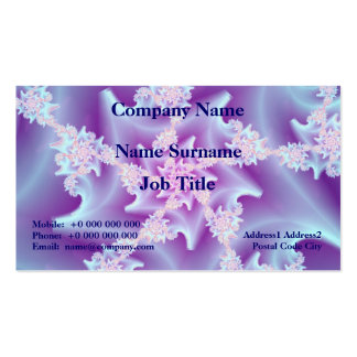 Coral Spiral Business Card Pack Of Standard Business Cards