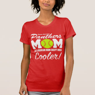 Coral Springs Panthers Mom T-Shirt
