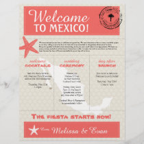 Coral Starfish Cabo Mexico Welcome Letter