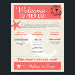 "Coral Starfish Cabo Mexico Welcome Letter Letterhead<br><div class=""desc"">Have fun with your destination themed wedding. Palm Tree, Starfish and Map of Mexico in colors of Colors are in Coral, Sandy Tan, and White. Tan heart located over the Cabo San Lucas area. If the color scheme is not what you wanted please email paula@labellarue.com BEFORE YOU CUSTOMIZE OR PLACE...</div>"