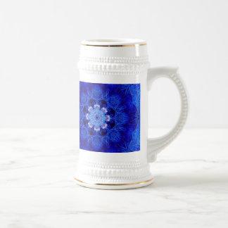 Coral Stein del azul real Jarra De Cerveza