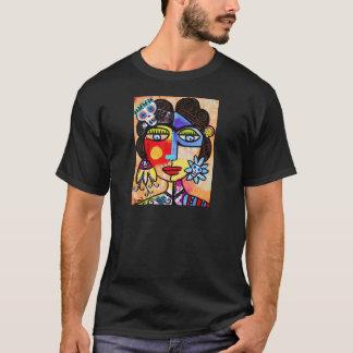 Coral Sugar Skull T-Shirt