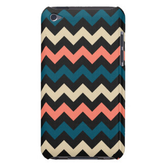 Coral Teal Chevron iPod Touch Case-Mate Case