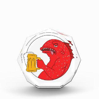 Coral Trout Beer Mug Circle Drawing Award