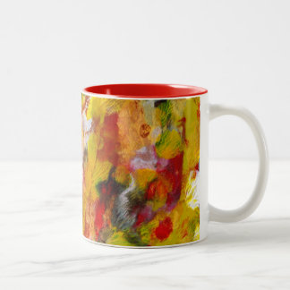 Coral Two-Tone Coffee Mug