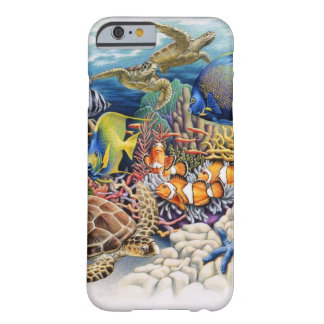 Coral Waters With Tropical Fish iPhone 6 Case