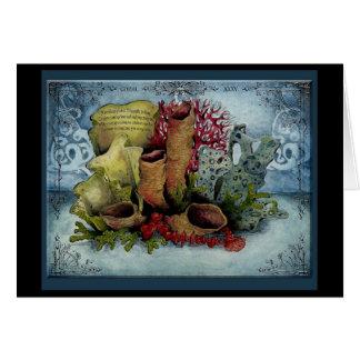 Coral Wedding Anniversary: Jupigio-Artwork.com Greeting Card