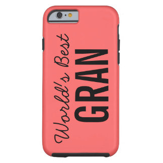 Coral World's Best Gran iPhone 6 Case