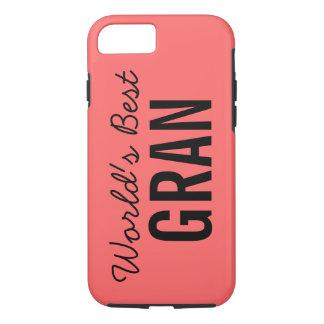 Coral World's Best Gran iPhone 7 Case