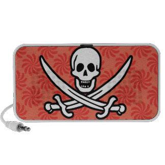 Coral y remolino rojo Rogelio alegre pirata Altavoces