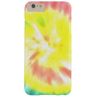 Coral Yellow Tie Dye Barely There iPhone 6 Plus Case