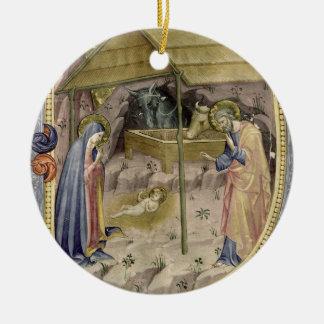 Corale / Graduale no.5  Historiated initial 'P' de Ceramic Ornament