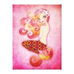 Coraline envolvió arte estirado lona de la pared d impresión en lienzo estirada