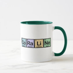 Combo Mug with Coraline made of Elements design