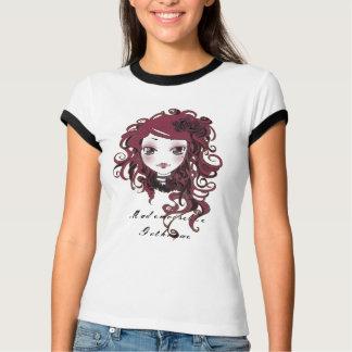 Coraline milk and licorice shirt
