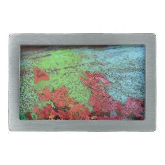 Corals and Flowers. Rectangular Belt Buckle