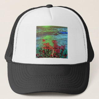 Corals and Flowers. Trucker Hat