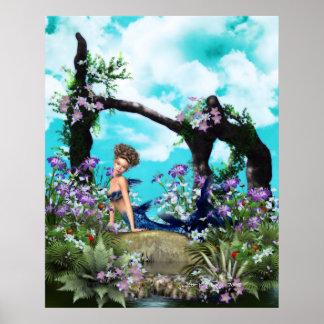 Corals Garden Print