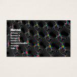 Corals - Mandelbrot Business Card