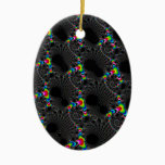 Corals - Mandelbrot Ceramic Ornament