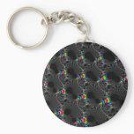 Corals - Mandelbrot Keychain
