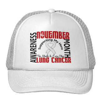 Corazón 1,3 del mes de la conciencia del cáncer de gorra