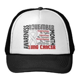 Corazón 1,5 del mes de la conciencia del cáncer de gorros