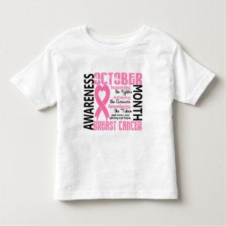 Corazón 1,5 del mes de la conciencia del cáncer de playera de bebé