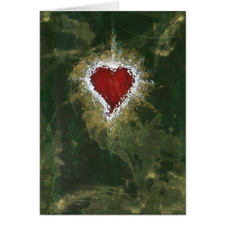 Corazon 1 greeting card - by Chanel
