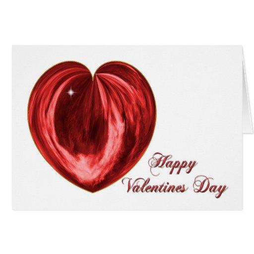 Corazón #1 tarjeta de felicitación