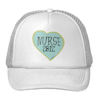 Corazón 2012 de la enfermera gorro de camionero