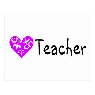 Corazón 2 del profesor postal