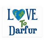 Corazón 3 de Darfur Postal