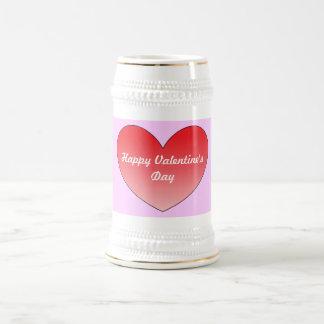 Corazón 4 jarra de cerveza