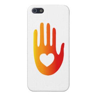 Corazón a disposición iPhone 5 fundas
