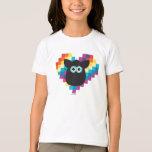 Corazón a memoria de imagen de Furby Playera