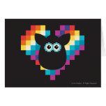 Corazón a memoria de imagen de Furby Tarjeta De Felicitación