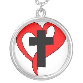 Corazón abierto del cristiano joyerias personalizadas