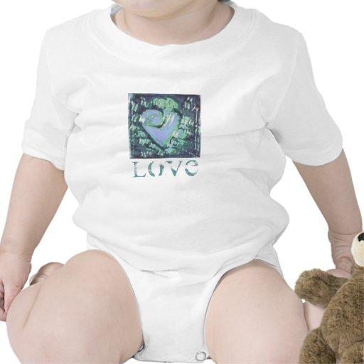 corazón abstracto camiseta