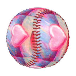 Corazón abstracto en colores pastel del estilo
