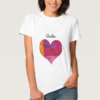 Corazón acolchado camisas
