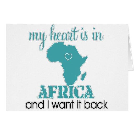 Corazón África Felicitaciones