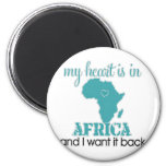 Corazón África Iman De Nevera