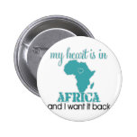 Corazón África Pin