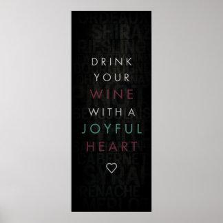 Corazón alegre póster