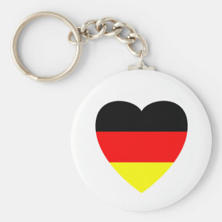 Corazón alemán llavero