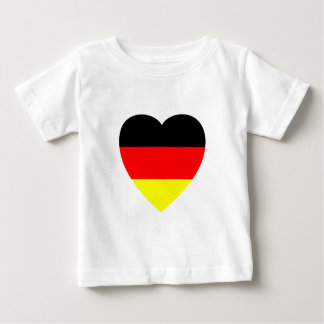 Corazón alemán tshirts