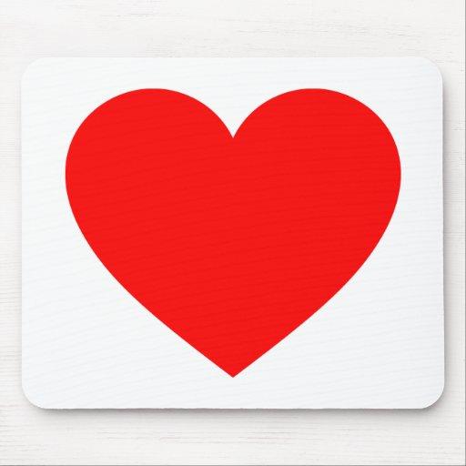 Corazón Alfombrilla De Raton