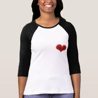 Corazón amado: Corazón sobre corazón por las Playera