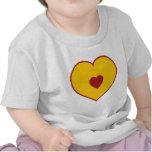 Corazón/amor Camiseta